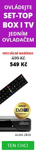 Alma 2820 DVB-T2 settopbox