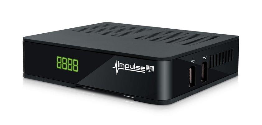 AMIKO IMPULSE H.265 DVB-T2/C - SLEVA NA ROZBALENÝ KUS