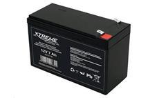 Baterie olověná 12V / 7,0Ah XTREME bezúdržbový gelový akumulátor