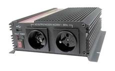 Carspa CAR1KU 24V/230V 1000W USB (mod. sin.)