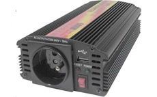 Carspa CAR500U 24V/230V 500W USB (mod. sin.)