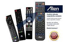 Dálkový ovladač ALIEN AB CryptoBox 500 mini HD, 500 HD, 550 HD - náhrada