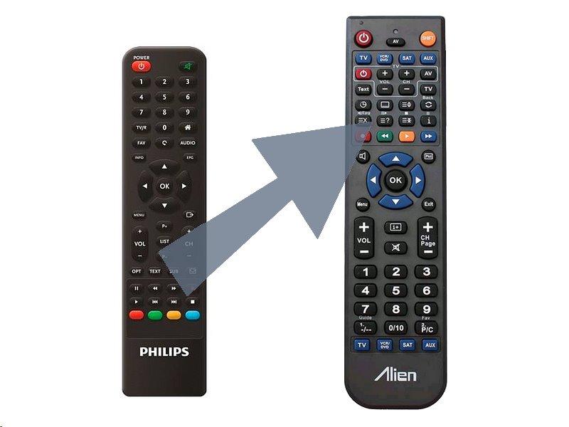 Dálkový ovladač ALIEN Philips DTR3502FTA