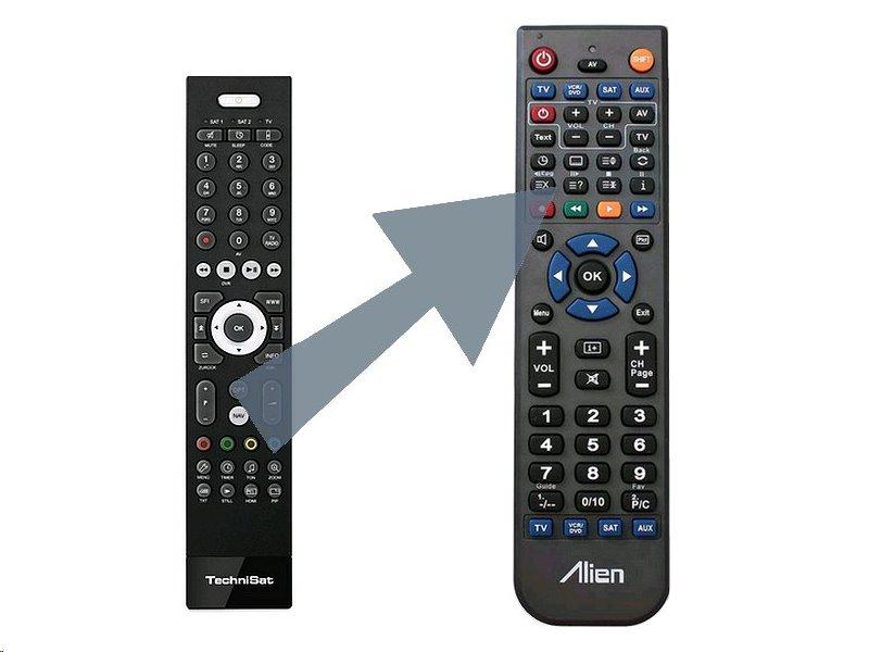 Dálkový ovladač ALIEN TechniSat DIGIPAL T2 HD ex+