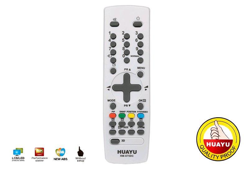 Dálkový ovladač HUAYU RM-675DC Daewoo
