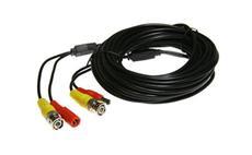 Kabel koaxiální s BNC + napájení 30 metrů