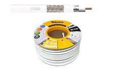 Kabel koaxiální Televes T-100 Cu 2126 / 100m / 6,6 mm