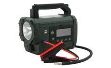 Kompresor / zdroj AKU Power starter 300A LiFePO4