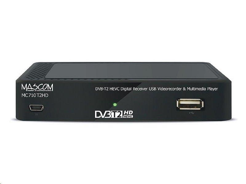 MASCOM MC710T2 HD DVB-T2 H.265/HEVC