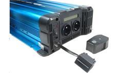 Měnič napětí Solarvertech FS3000 12V/230V 3000W + USB, dálkové ovládání, čistá sinusovka