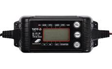 Nabíječka autobaterií YATO YA-83033 4A 6/12V PB/GEL LCD