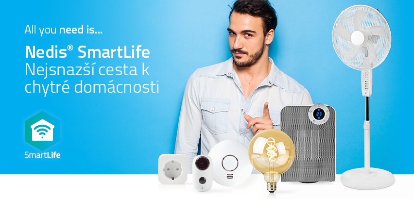 Chytrá domácnost NEDIS SmartLife