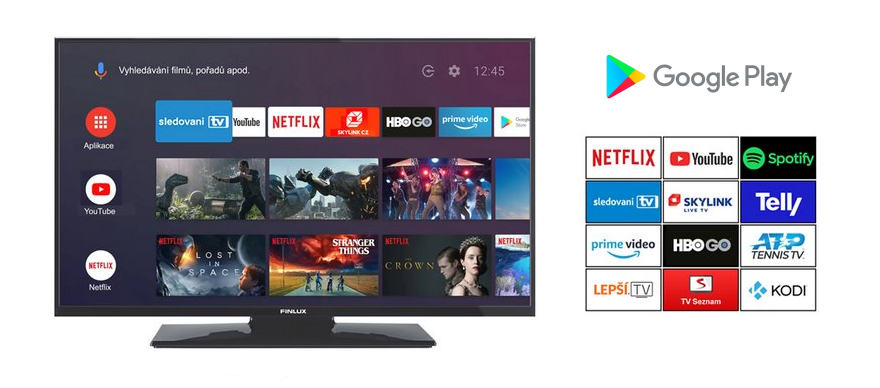 Finlux Google play Android TV