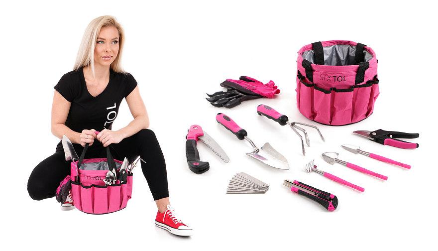 Nářadí Sixtol Garden Pink 10