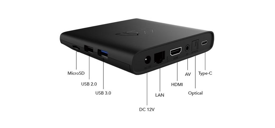 Homatics Android TV Box 4K