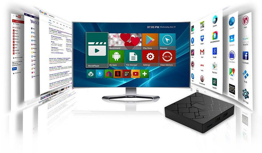 Android TV boxy