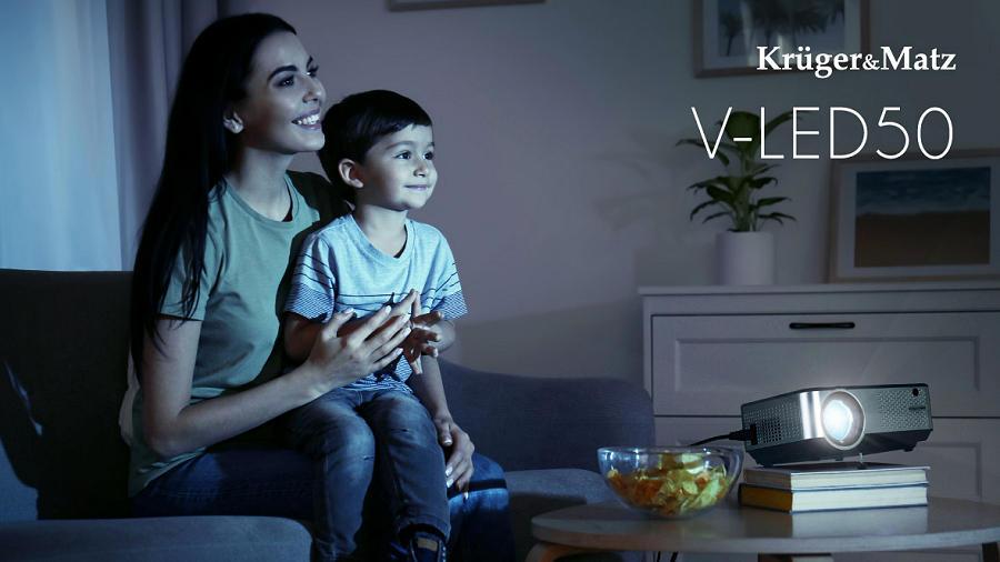 LED projektro Kruger Matz V 50