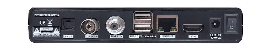 Qviart LUNIX CO zadní panel