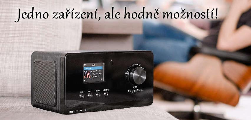 DAB Rádio Kruger Matz