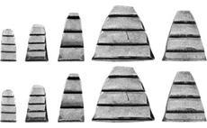 Sada klínků pro kladivo 10 ks