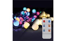 Solight 1V08-RGB LED venkovní vánoční řetěz 2v1