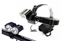 Solight WN19 svítilna nabíjecí LED cyklo a čelová