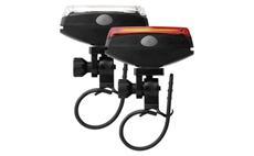 Svítilna na kolo LED COB, SET přední + zadní EMOS P3922